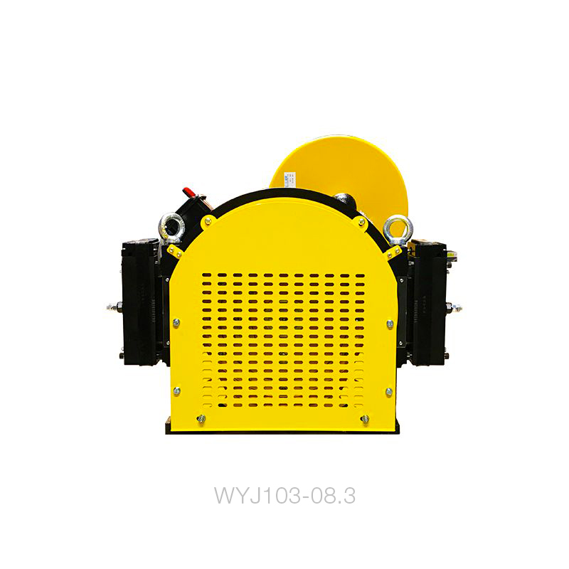 gearless-wyj103-0831ms-21-6x10mm-67kw-ecn1313-10-meters