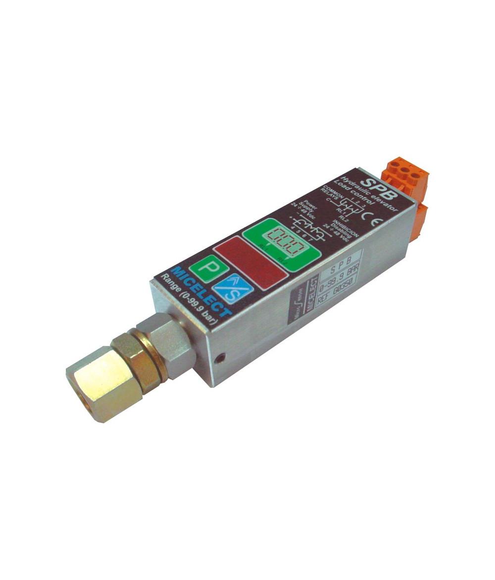 Capteur de pression hydraulique SPB - 0 à 99 Bars