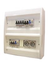 TABLEAU ELECTRIQUE 230VAC 32A IP30