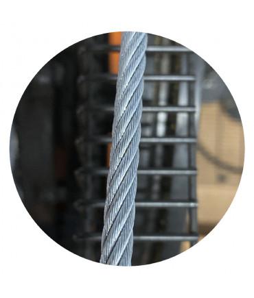 Câble limiteur de vitesse galvanisé