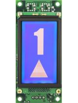 235SP - Afficheur LCD monochrome 70x40MM