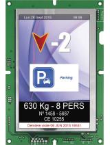 236SP TFT display 130X200MM