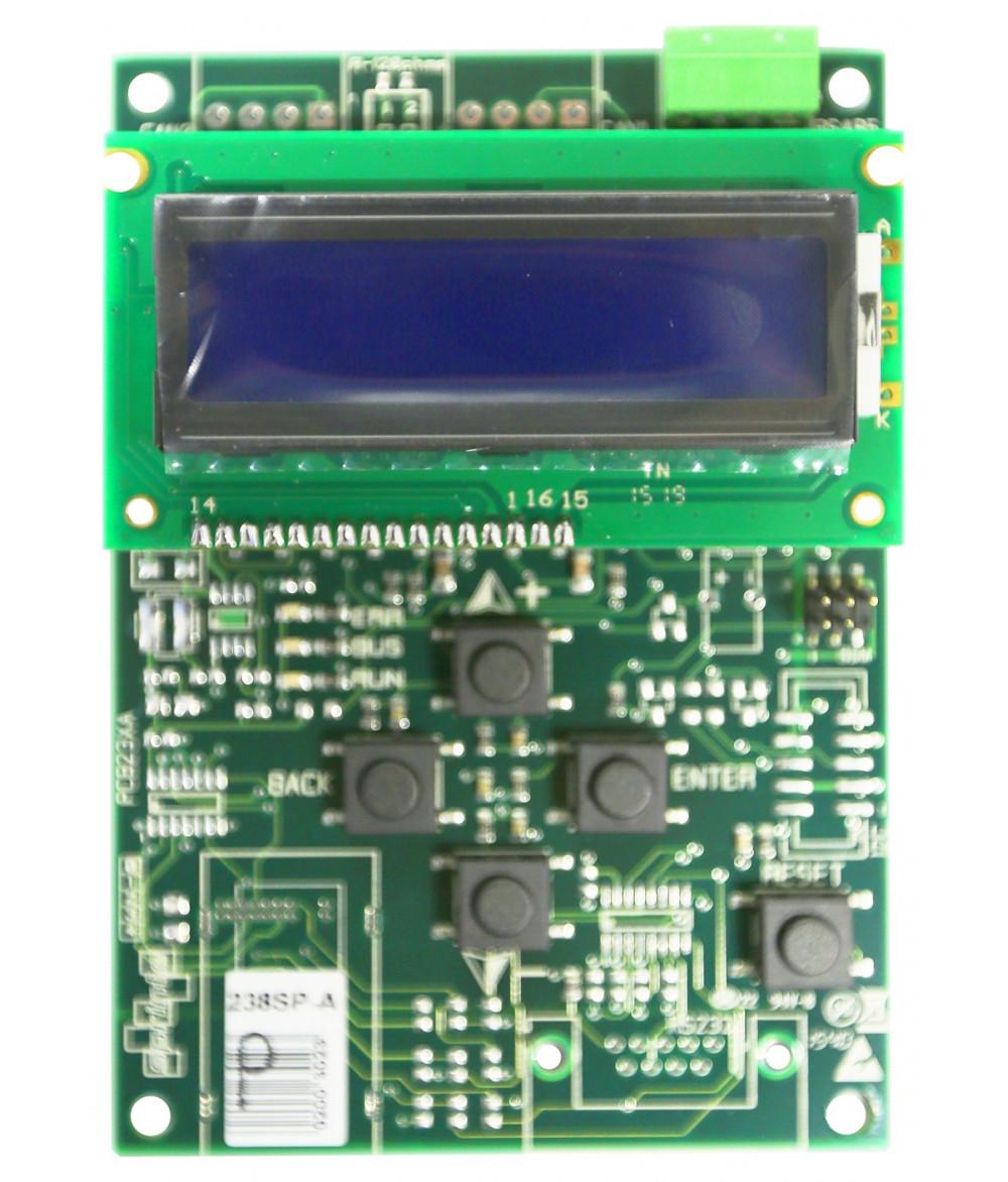 238SP Configuration ASP116