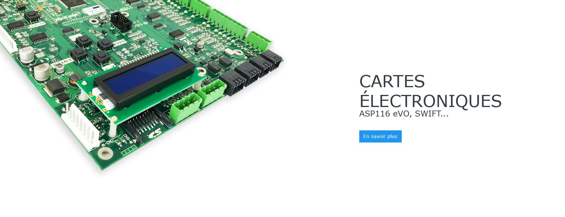 Cartes électroniques SAV